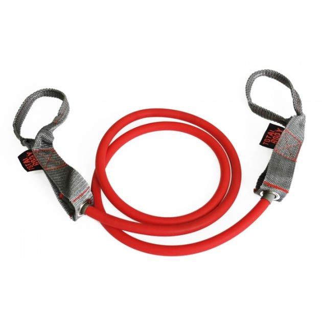 Трубчатый эспандер латекс красный 6.8 кг