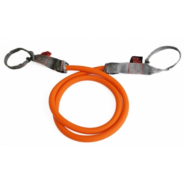 Трубчатый эспандер латекс оранжевый 22.6 кг