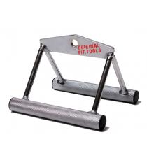 Рукоятка для тяги к животу узкий параллельный хват Original Fit.Tools FT-MB-SRHH