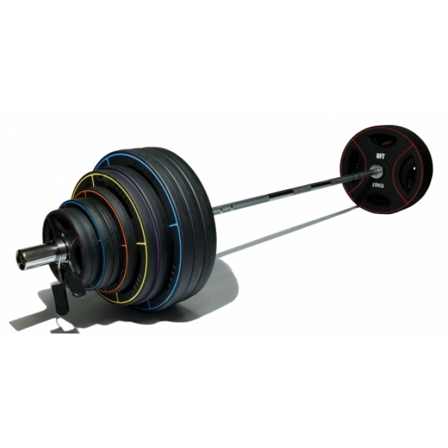 Штанга олимпийская Original Fit Tools диски TPU 225 кг