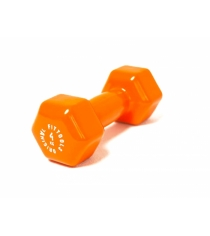 Гантель в виниловой оболочке 4 кг оранжевый Original Fit.Tools FT-VWB-4