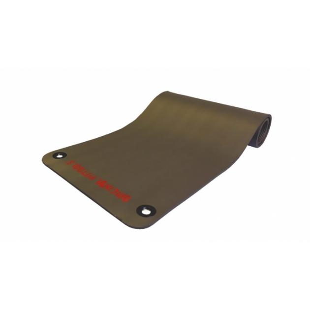 Коврик для аэробики и йоги 12.5 мм NBR серый 1800х610х12.5 мм