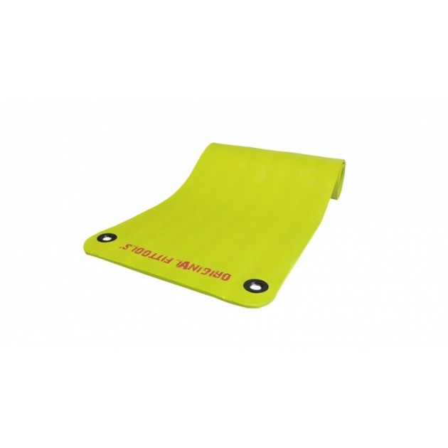Коврик для аэробики и йоги 12.5 мм NBR зеленый 1800х610х12.5 мм