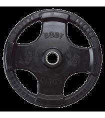 Обрезиненный диск Body Solid 20,41 кг ORT45