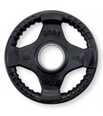 Обрезиненный диск Body Solid 2.25 кг ORT5