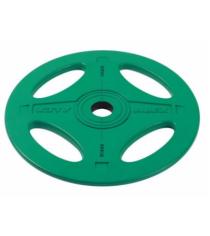 Олимпийский обрезиненный диск X Bar 10 кг P-RO-10K-DSA