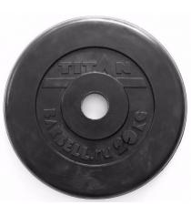 Обрезиненный диск Titan d 51 мм 20 кг TP51-20