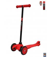 Самокат Y-scoo mini a 5 simple red с цветными колесами 4900...