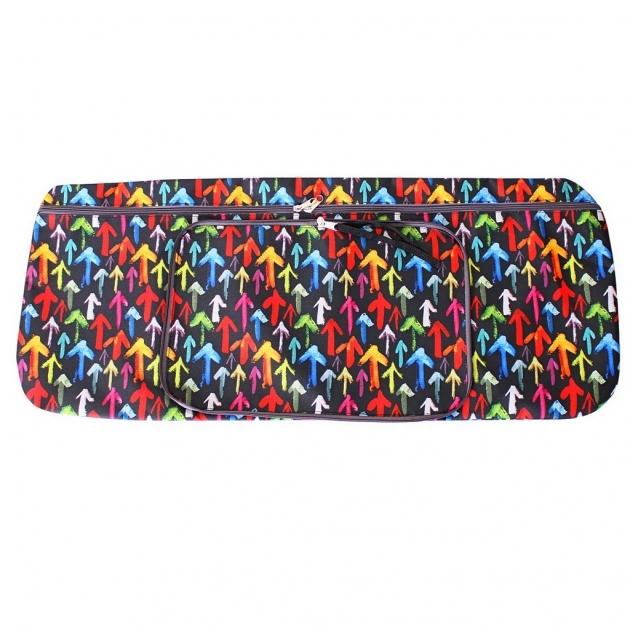 Чехол портмоне складной для самоката Y scoo 125 разноцветные стрелки 5705