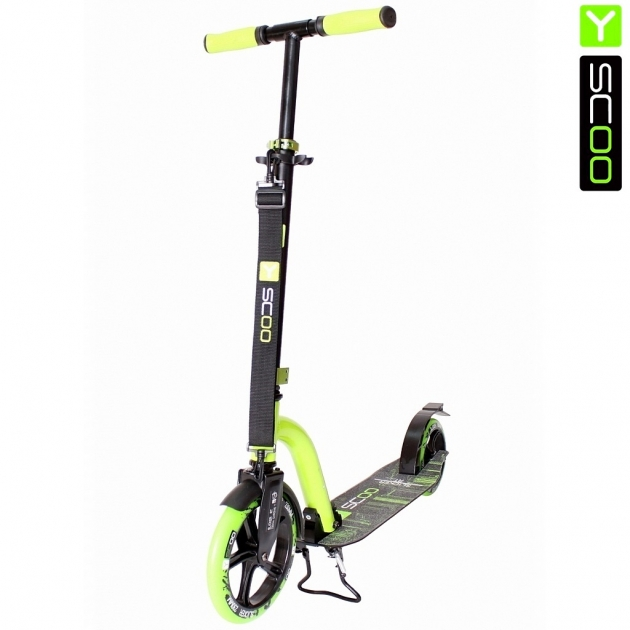 Самокат Y-scoo rt 230 slicker new technology green 5751