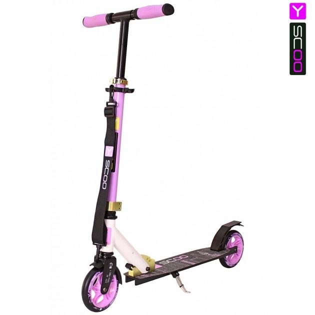 Самокат Y-scoo rt 145 city hong kong new technology purple kiwi 5754
