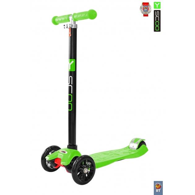 Самокат Y-scoo maxi a 20 simple green 5801