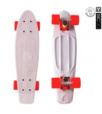 Скейтборд Y-scoo fishskateboard 22 винил 56 6х15 grey/red 401 g 5816