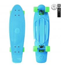 Скейтборд Y-scoo fishskateboard 22 винил 56 6х15 blue/green 401 b 5819