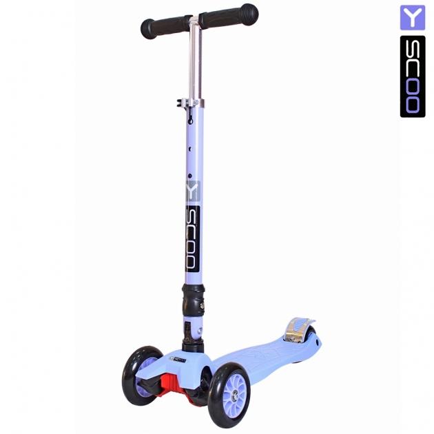 Самокат Y scoo 35 maxi fix simple violet 6097