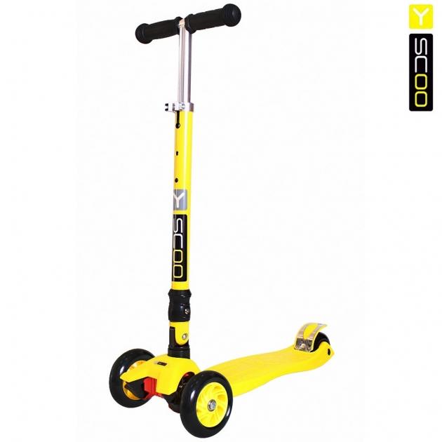 Самокат Y scoo 35 maxi fix simple yellow 6098