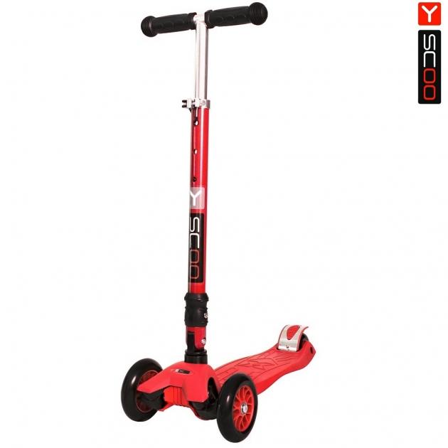 Самокат Y scoo 35 maxi fix simple red 6099