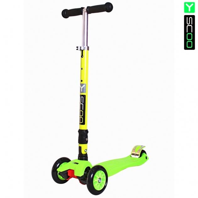 Самокат Y scoo 35 maxi fix simple green 6101