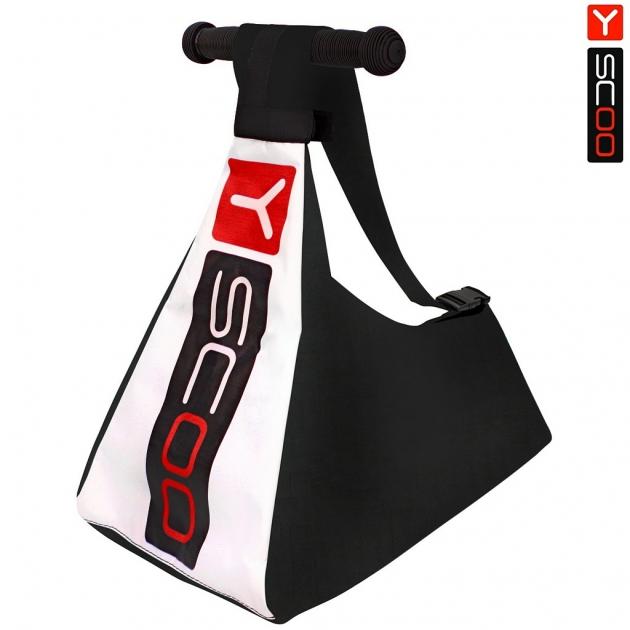 Сумка чехол для 3 х колесного самоката Y scoo цвет красный 6587