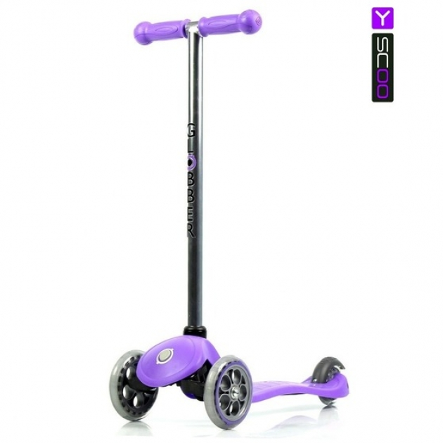 Самокат Y-scoo rt globber my free fixed purple 5230