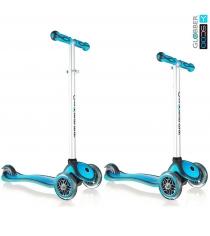Самокат Y-scoo rt globber my free new technology blue aqua 5944