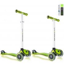 Самокат Y-scoo rt globber my free new technology green 5945