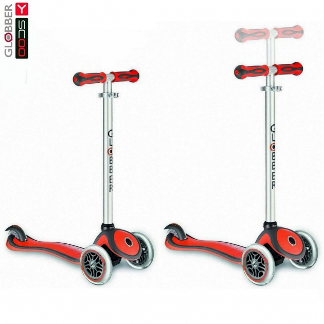 Самокат Y-scoo rt globber my free new technology red 5947