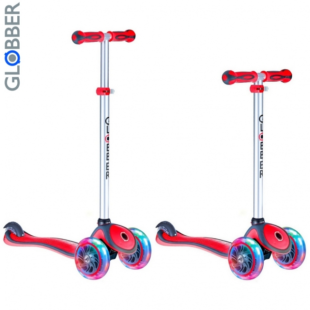 Самокат Y-scoo globber primo plus red 442 102 6476