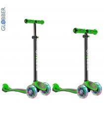Самокат Y-scoo globber primo plus titanium neon green 442 136 6484