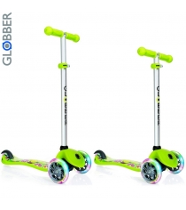 Самокат Y-scoo globber primo fantasy fruitiness lime green 424 006 6551