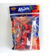 Игровой набор минимания пожарная служба Yako В79243