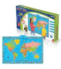 Карта мира интерактивная ZanZoon 16305/2