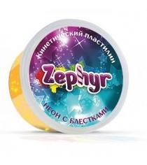 Масса для лепки оранжевая неоновая с блёстками Zephyr 00-00000864...