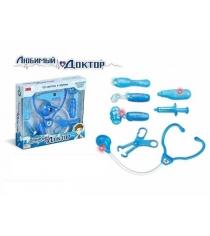 Игровой набор любимый доктор 8 предметов свет звук Zhorya ZYB-B1175-4