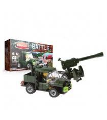 Конструктор battle пушка 3м 120 93 детали Zormaer 58821