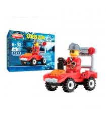 Пластиковый конструктор urban пожарный маршал 35 деталей Zormaer 64215...