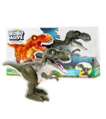 Игрушка робо тираннозавр зеленый Zuru Т13693