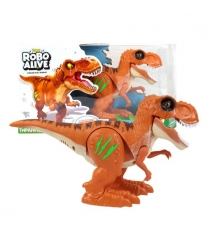 Игрушка робо тираннозавр RoboAlive оранжевый Zuru Т13694