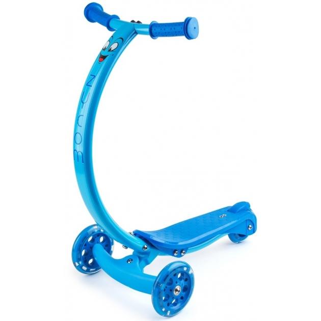 Самокат со светящимися колесами Zycom zipster синий