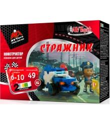 Конструктор AVToys Автомобиль Стражник 140206