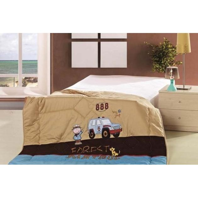 Детское одеяло Advesta Partrol стеганое с вышивкой 155х215 см