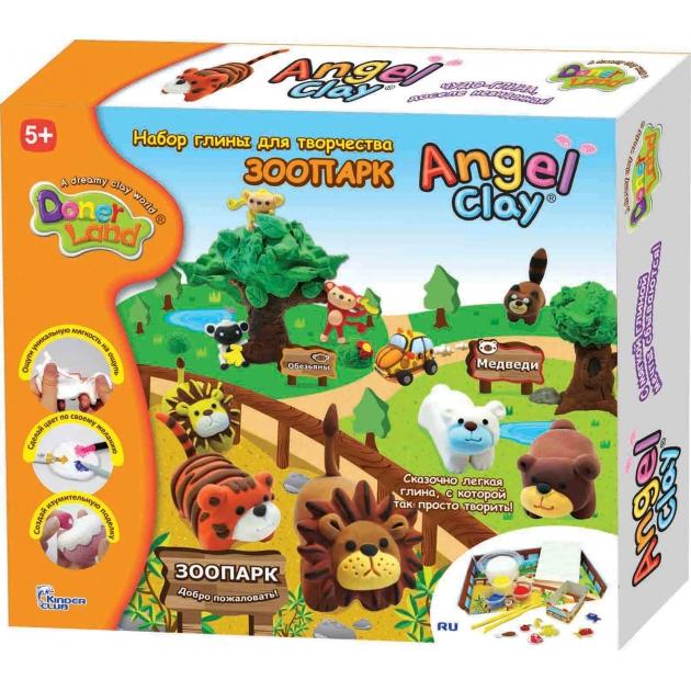 Чудо глина для лепки Angel Clay Зоопарк AA12071