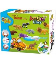 Чудо глина для лепки Angel Clay Сафари AA14021