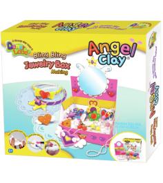Чудо глина для лепки Angel Clay Шкатулка принцессы...