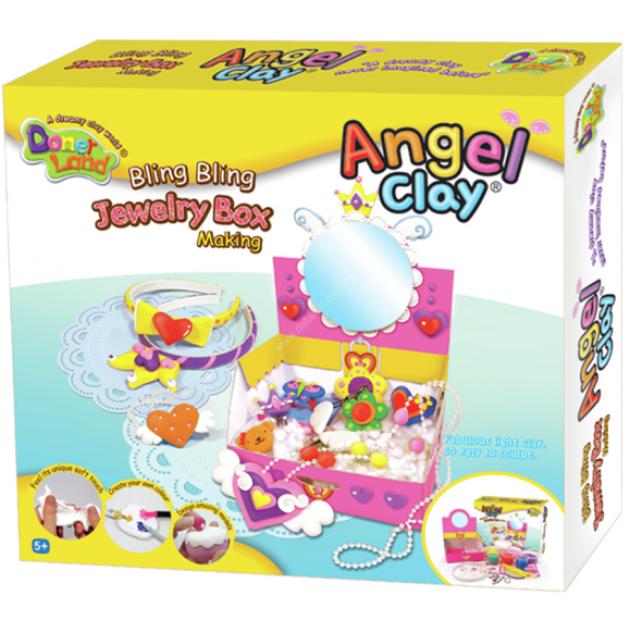 Чудо глина для лепки Angel Clay Шкатулка принцессы AA15031