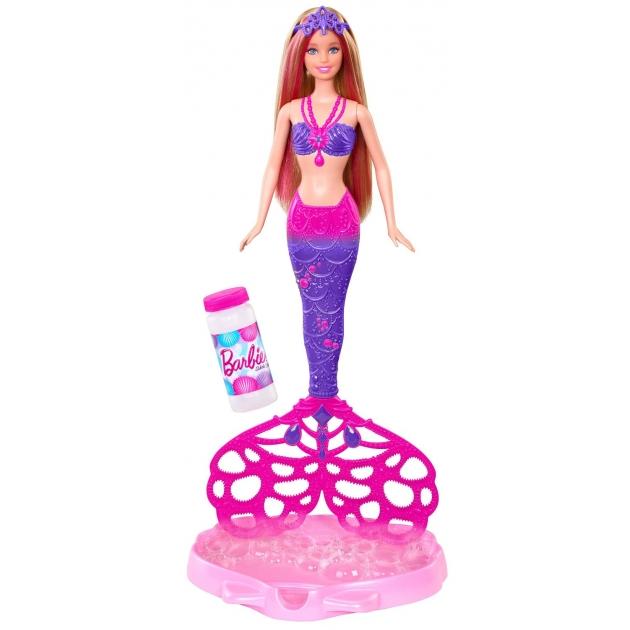 Кукла Барби Маттел русалка с волшебными пузырьками CFF49