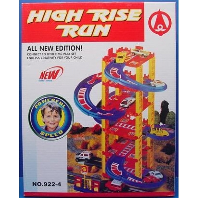 Игровой набор S+S Toys Гараж EK2783R/SR922-4 с аксессуарами A247-H06005