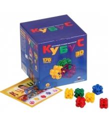 Конструктор Биплант Кубус Большой 170 элементов 11022...