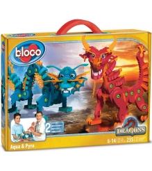 Конструктор Bloco Драконы Воды и Огня 30552
