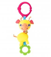Развивающая игрушка Bright Starts Дрожащий дружок Жираф 52073-2